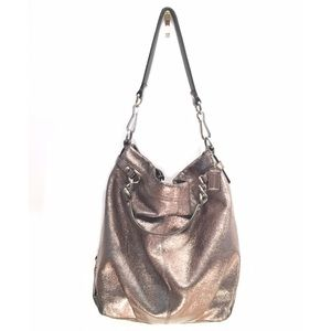 Coach No.C1182-F16618 Brooke Pewter Metallic Hobo